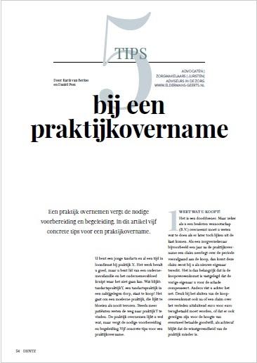 dentz-magazine-5-tips-bij-een-praktijkovername-in-de-mondzorg-eldermans-geerts