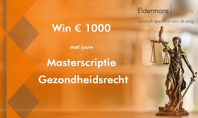win-1000-euro-met-jouw-masterscriptie-gezondheidsrecht