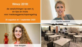 Zorgseminar Wmcz 2018 de verplichtingen op een rij 25 augustus en 1 september 2020