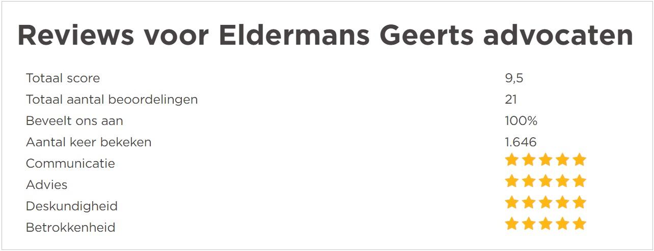 reviews eldermans-geerts klantenvertellen